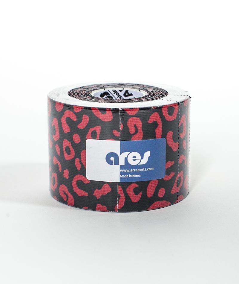 Эластичный Кинезиологический пластырь Арес Амазон 5см*5 м Ares Kinesio Tape Amazon (Leopard)