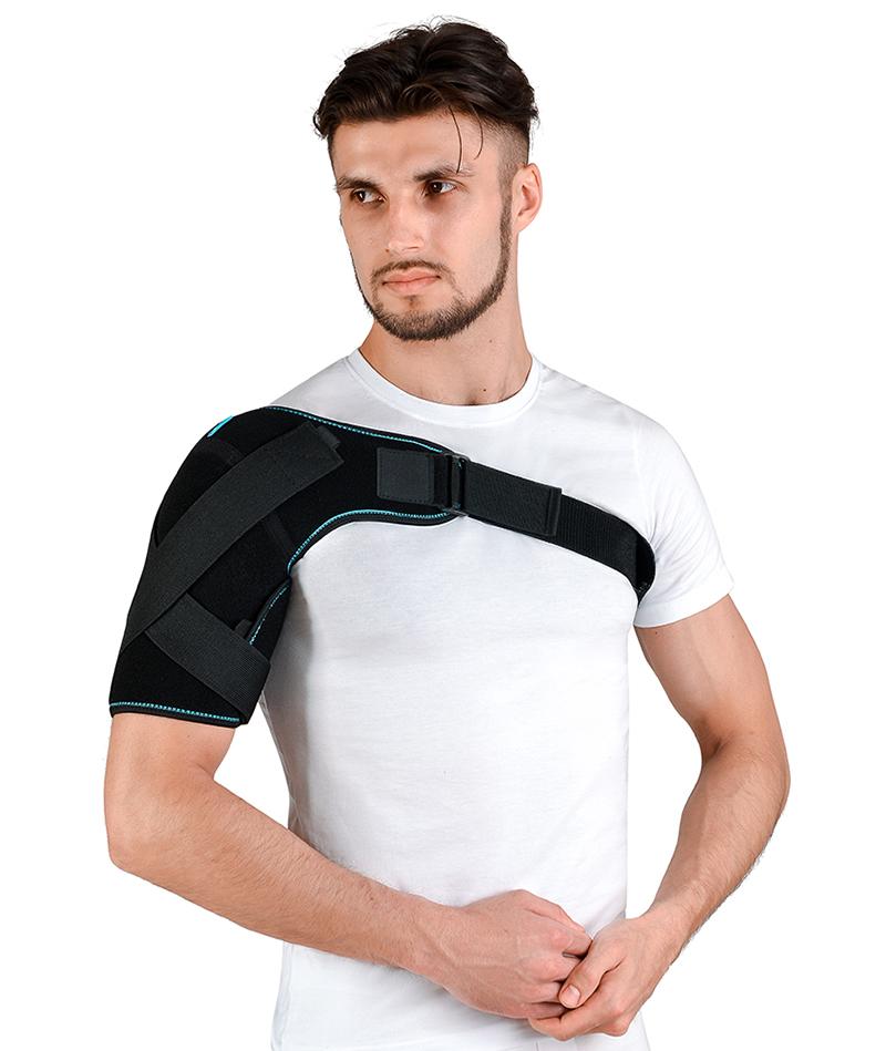 Бандаж плечового суглоба неопреновий лівий/правий Алком 4027