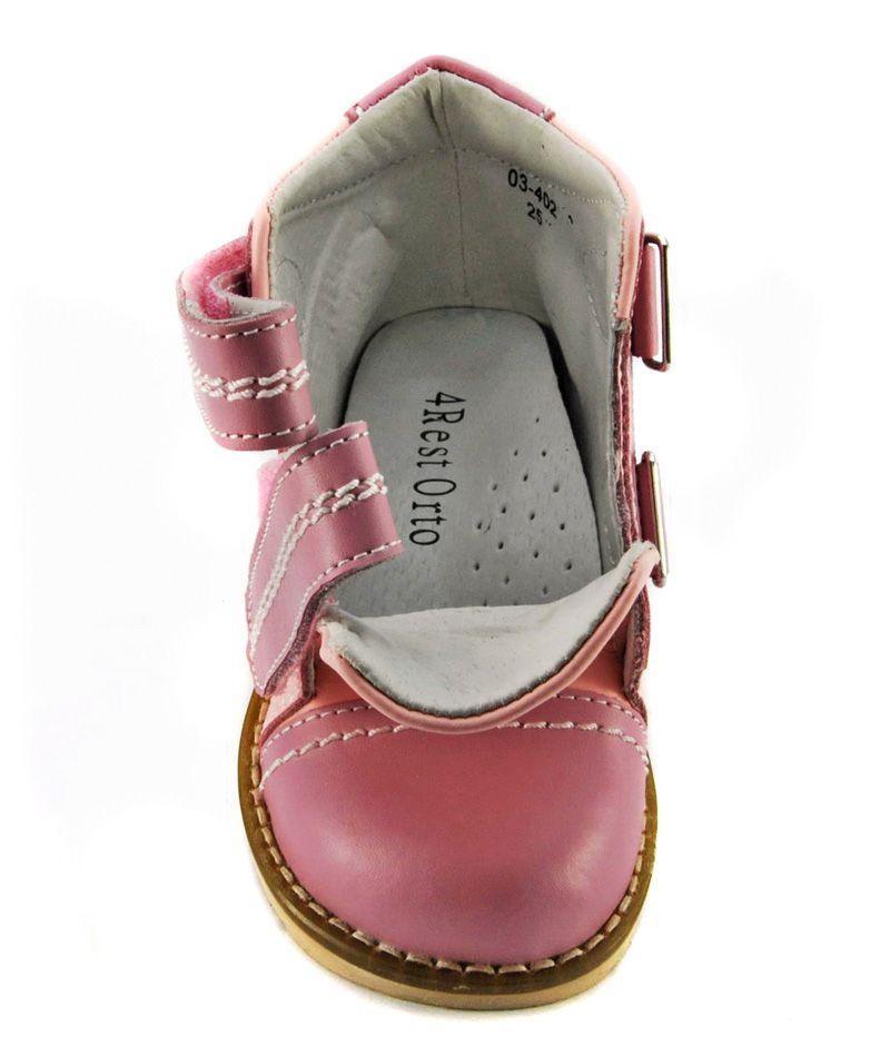 Ботинки демисезонные, розовые 4Rest Orto 03-402 - 2