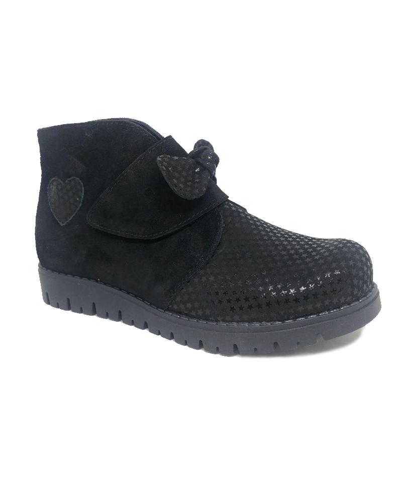 Ботинки демисезонные ортопедические, черные, подкл.Gore-tex M1866 - 2