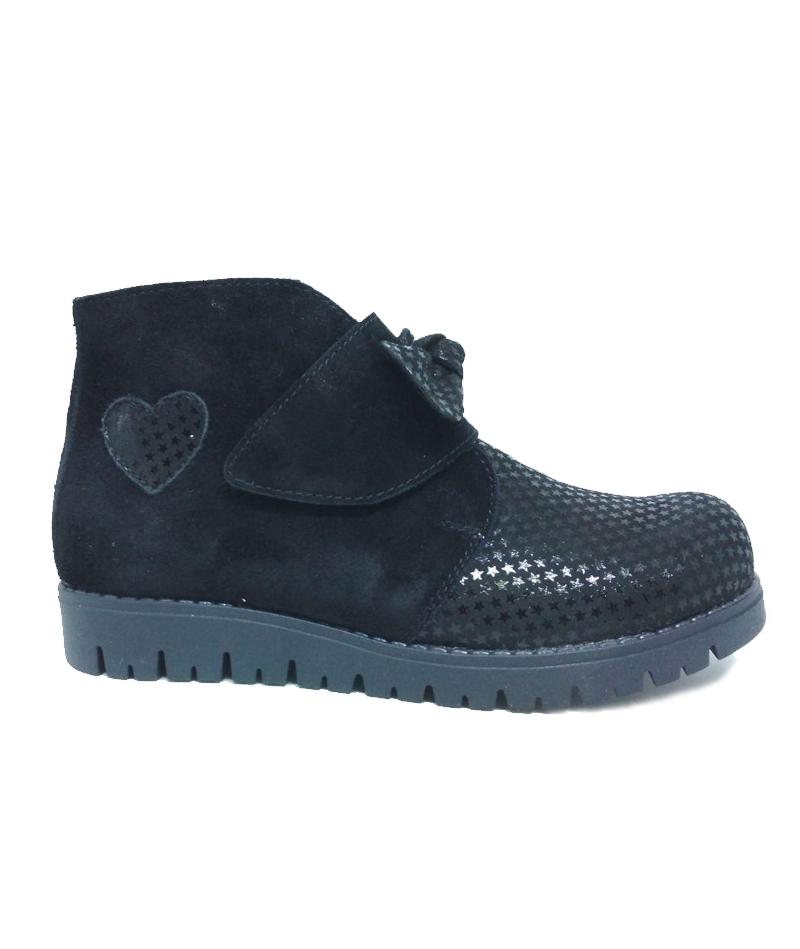 Ботинки демисезонные ортопедические, черные, подкл.Gore-tex M1866 - 1