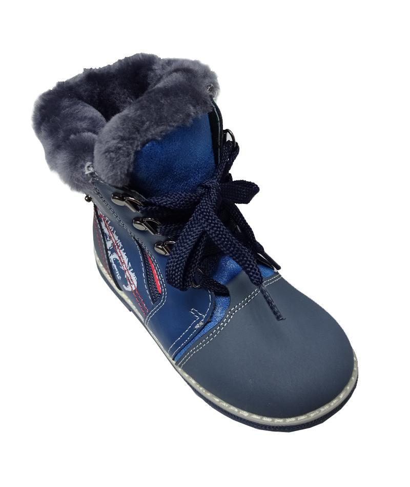 Ботинки зимние детские ортопедические нат. мех ОrtoBaby W9012 - 4