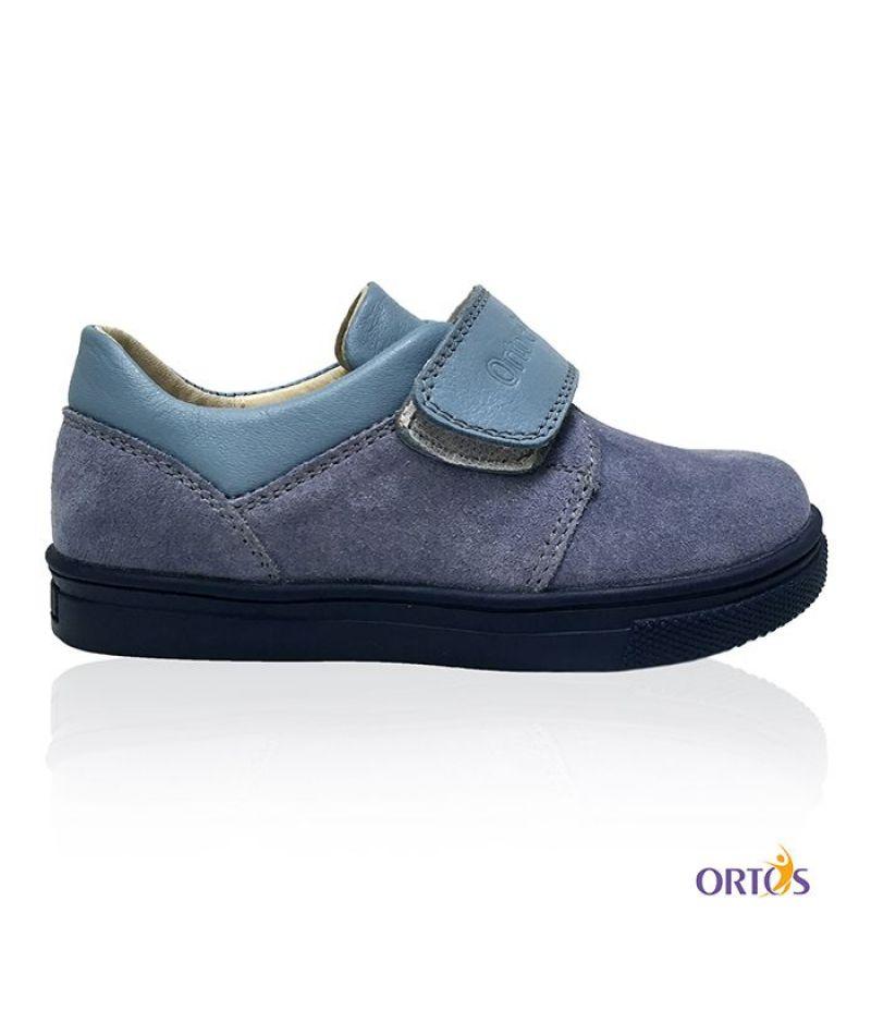 Туфли детские ортопедические ОrtoBaby D8006 цвет серый