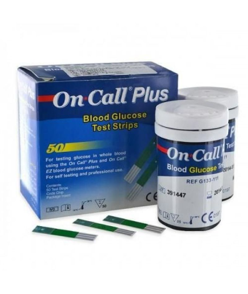 Тест-полоски On-Call Plus №50
