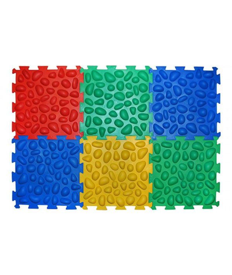 Массажний коврик Ortek Пазлы (6 элементов)