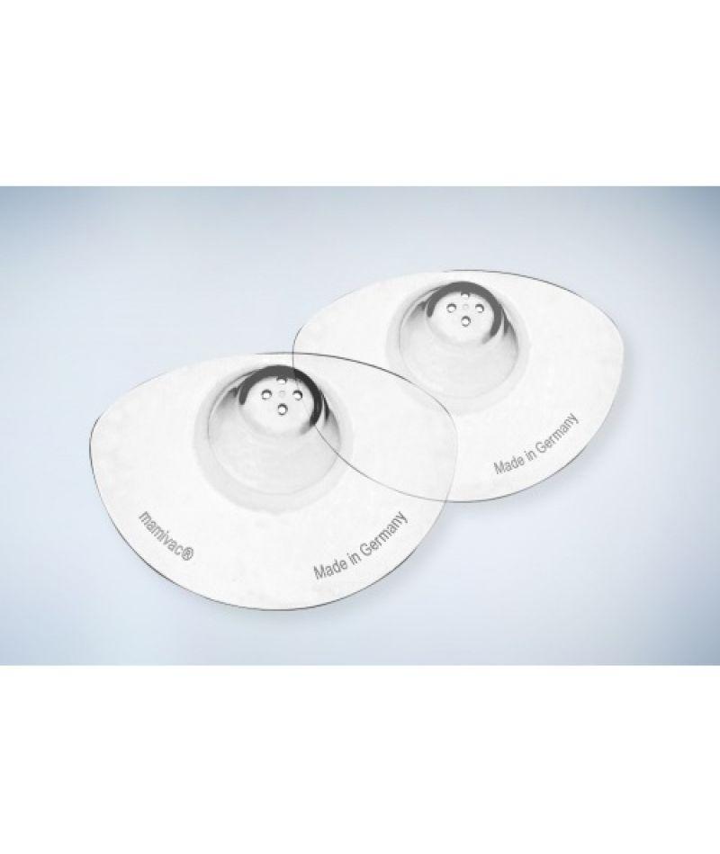 Накладки защитные силиконовые для сосков конической формы Mamivac, размер L (2 шт.)