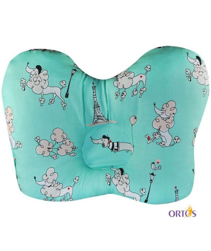 Ортопедическая подушка для новорожденных Олви ОП-2 Бабочка
