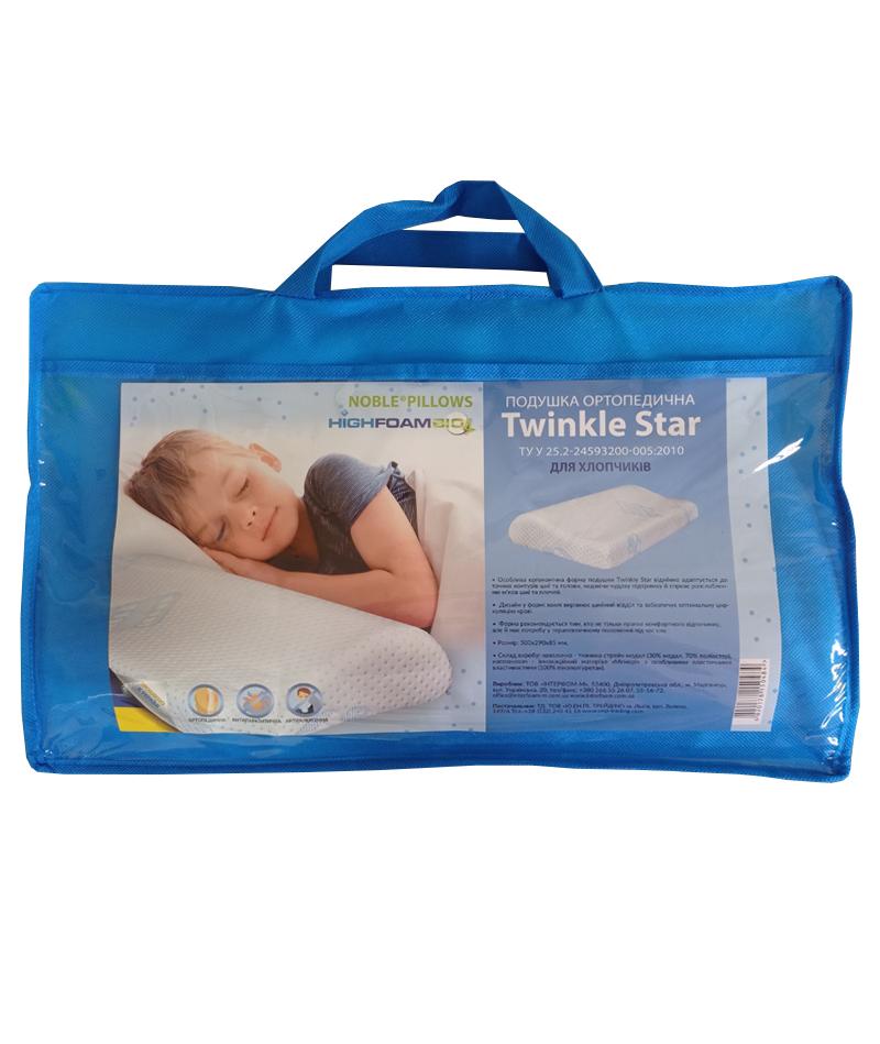 Подушка Highfoam Noble Twinkle Star Boy 500x290x80/50