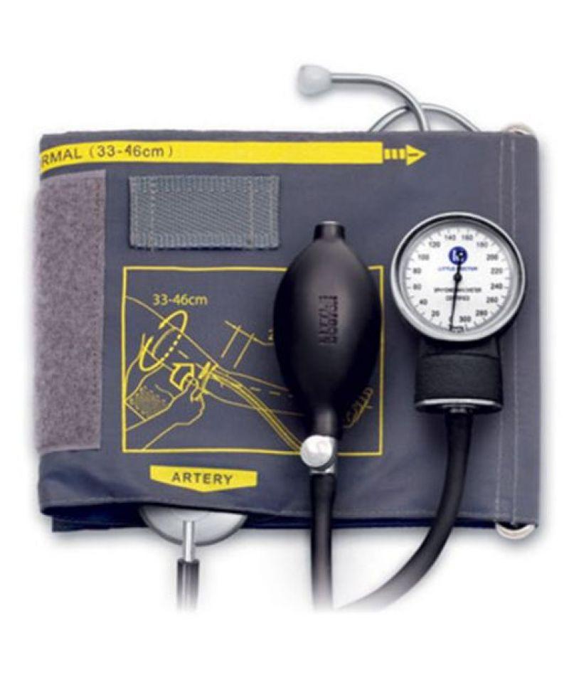 Тонометр Little Doctor механический АО LD-60 фонендоскоп встроенный в манжету, 33-46см.