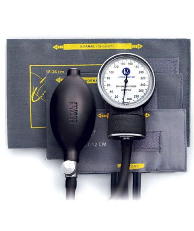 Тонометр Little Doctor механический АО LD-80 без фонендоскопа, детские манжеты 7-12см, 11-19см, 18-26см