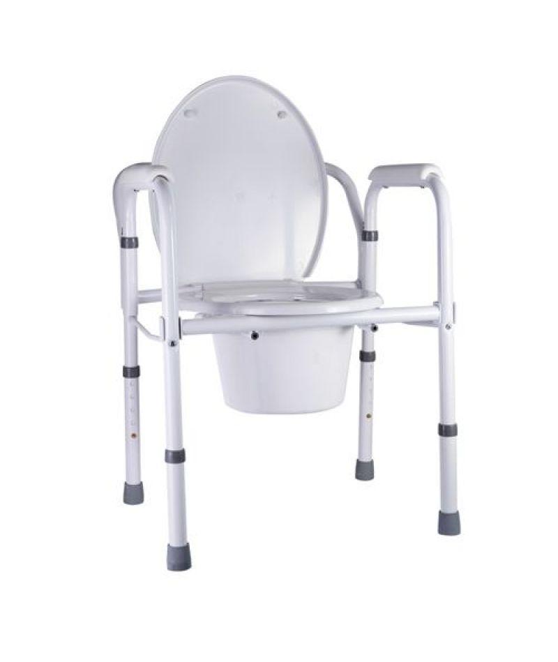 Стілець-туалет складаний Nova А8700AА, сталь
