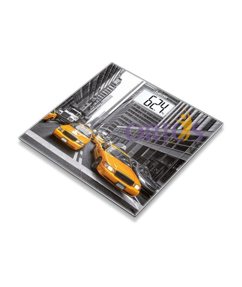 Весы напольные стеклянные BEURER GS 203 (New York)
