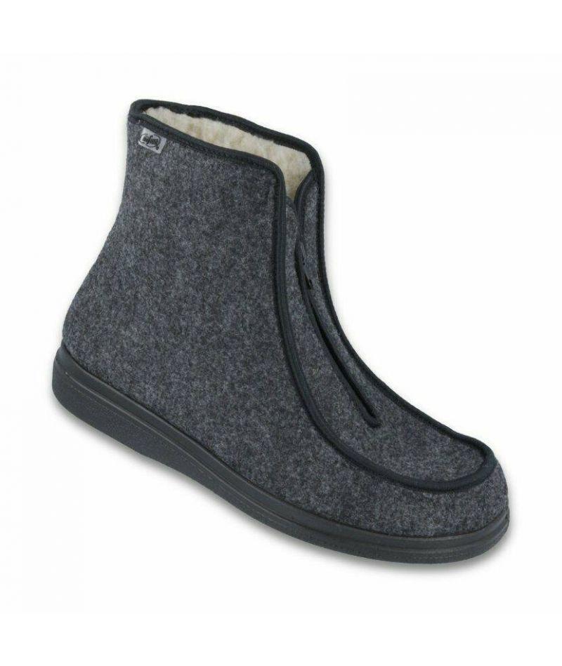Ортопедические ботинки для диабетической стопы, натуральный мех Dr Orto 996 M 004