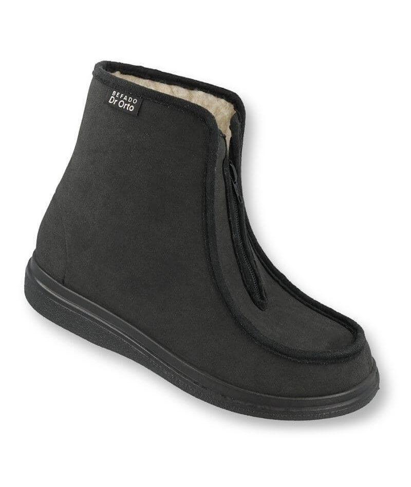 Ортопедические ботинки для диабетической стопы, натуральный мех Dr Orto 996 M 008