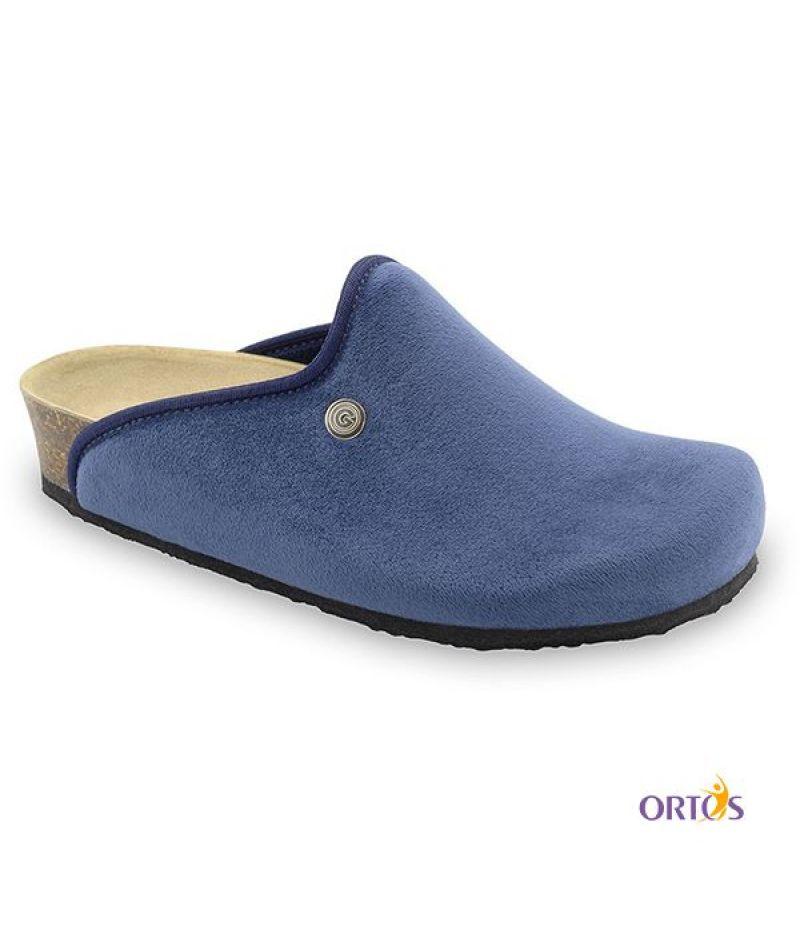 Сабо женские Caki, Grubin (синий/флис. ) размер 37