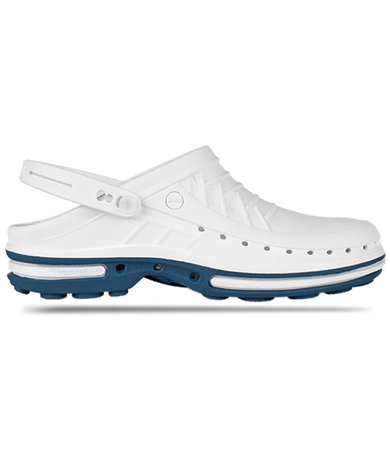 Сабо медицинские Wock CLOG02 цвет белый-синий