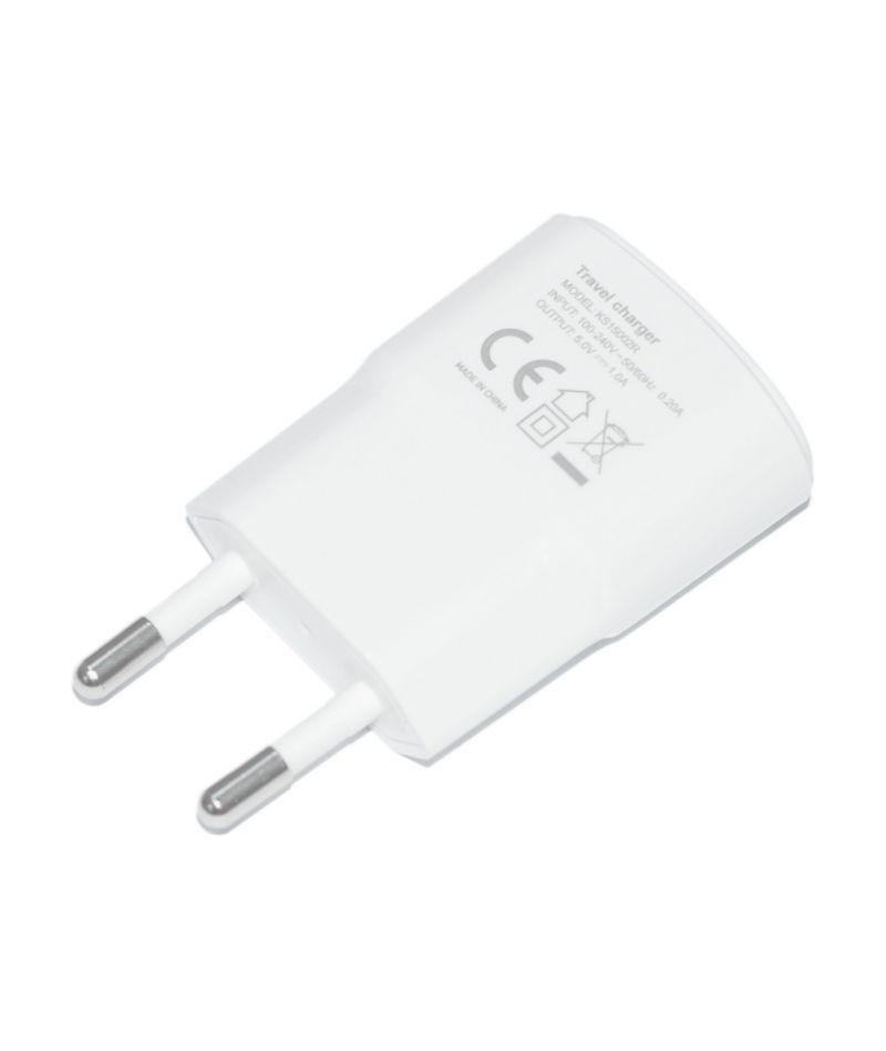 Сетевое зарядное устройство USB 1A