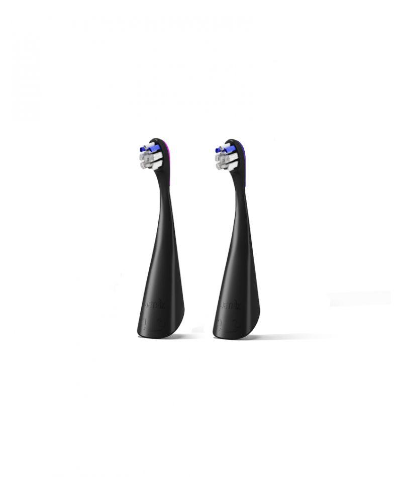 Электрозвуковые насадки-щетки Sensitive к JP300 (черные), 2 шт