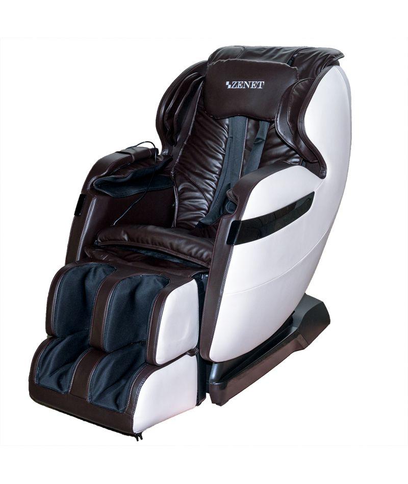 Массажное кресло ZENET ZET 1530 Коричневое - 2
