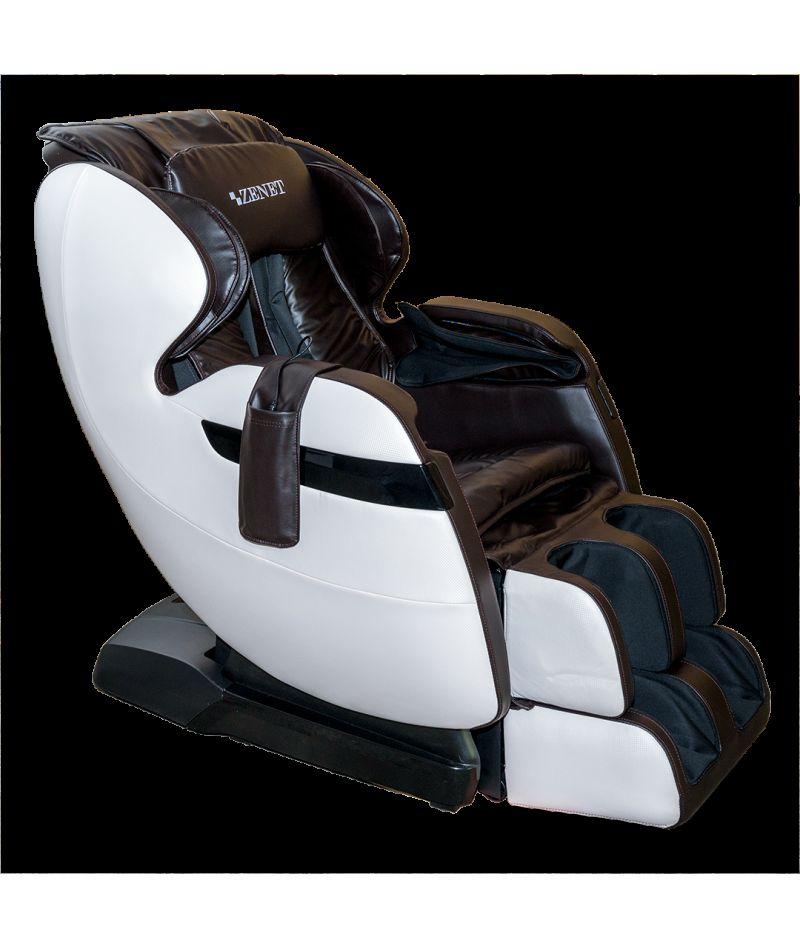 Массажное кресло ZENET ZET 1530 Коричневое - 4