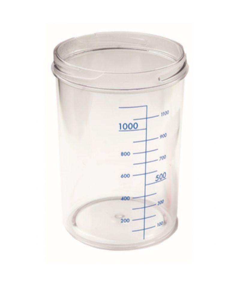 Емкость для аспиратора без крышки 1 л RE-210003