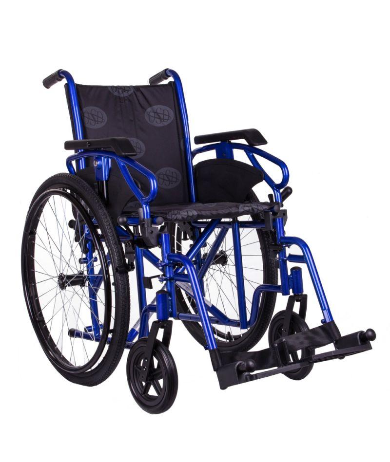 Коляска инвалидная «MILLENIUM III» (синий) OSD-STB3-**