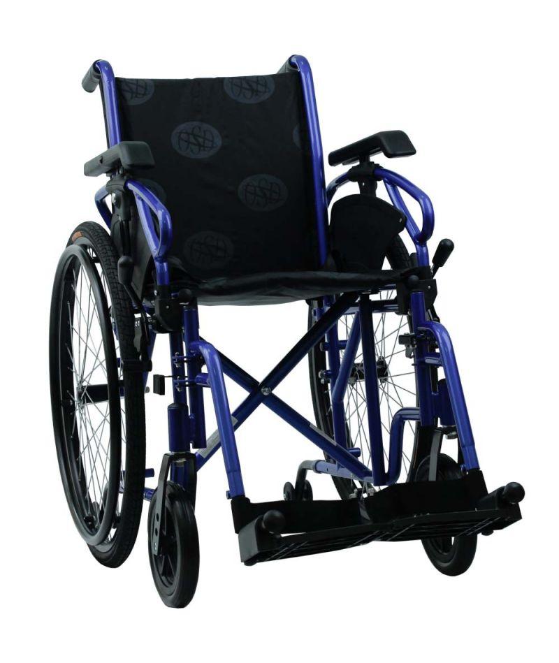 Инвалидная коляска «MILLENIUM IV» (синий) OSD-STB4-**