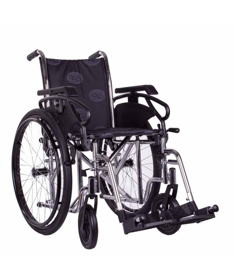 Коляска инвалидная «MILLENIUM III» (хром) OSD-STC3-**