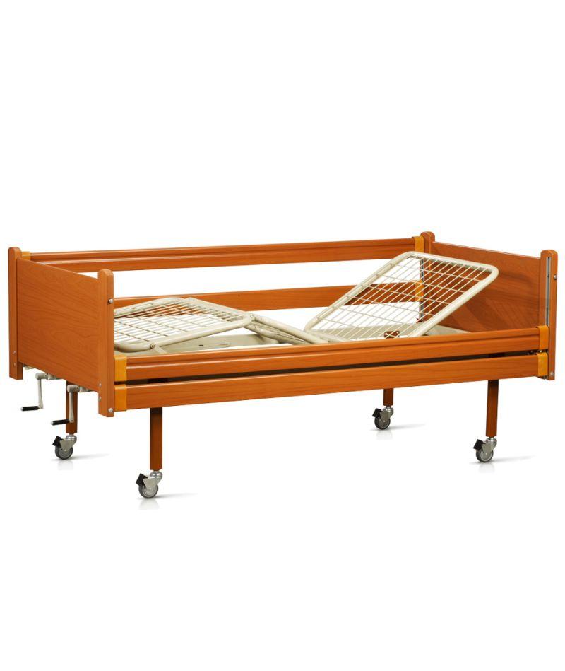 Кровать деревянная функциональная четырехсекционная OSD-94
