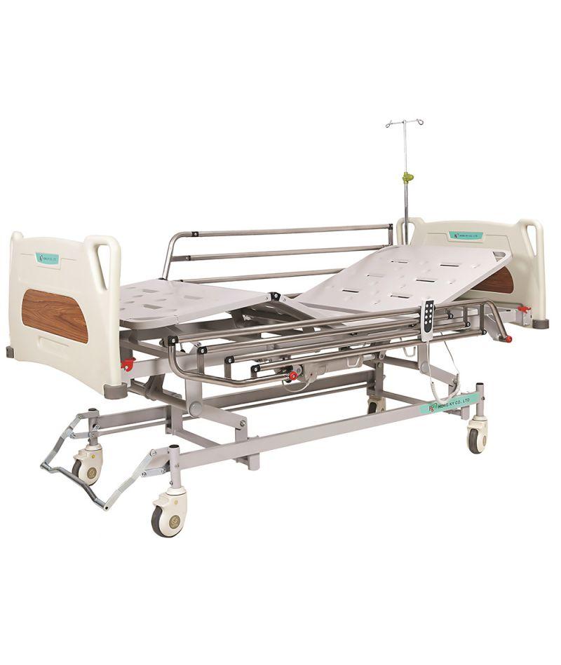 Кровать с электроприводом и регулировкой высоты (4 секции) OSD-9018