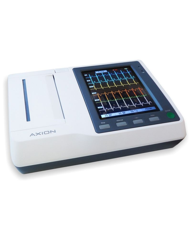 Электрокардиограф ЭКЗТЦ-3/6-04 «Аксион» с функцией передачи данных по каналу GSM Праймед