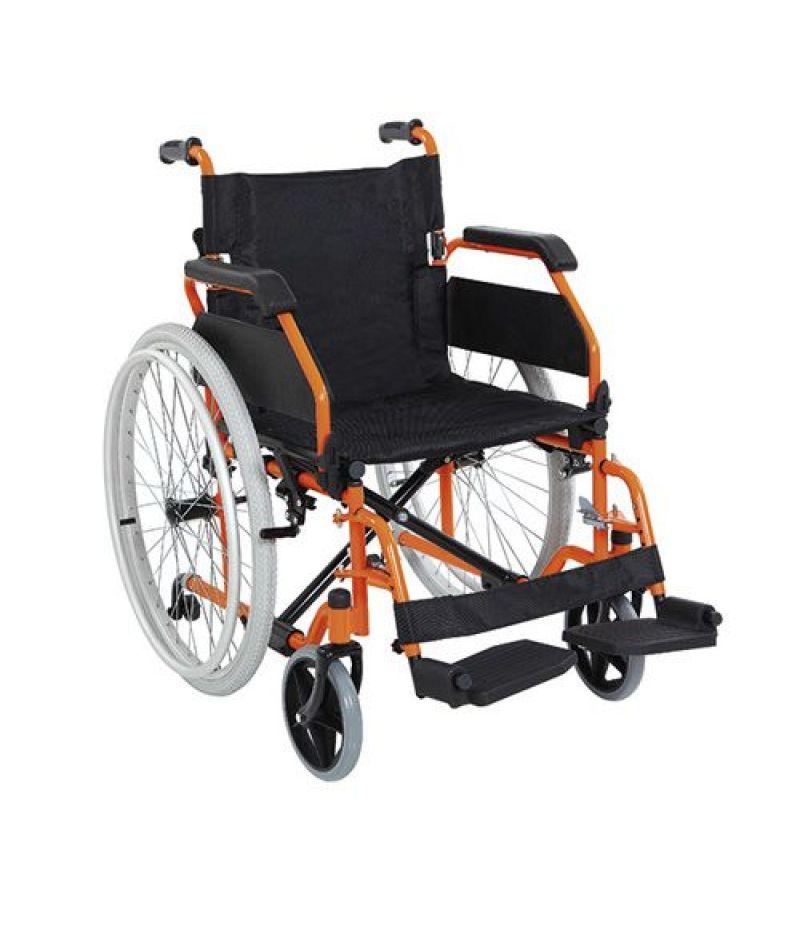 Инвалидная коляска металлическая Heaco Golfi-19