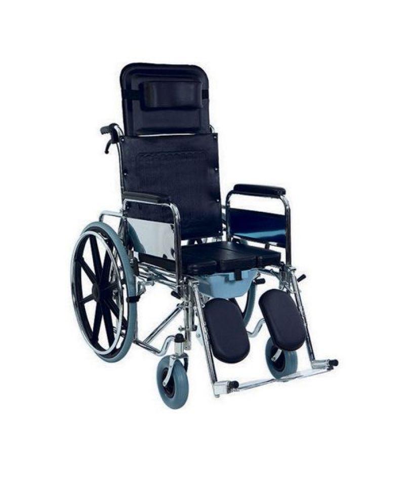Инвалидная коляска металлическая Heaco Golfi-4