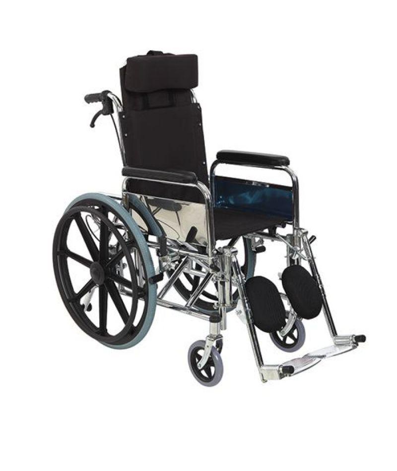 Инвалидная коляска металлическая Heaco Golfi-4C