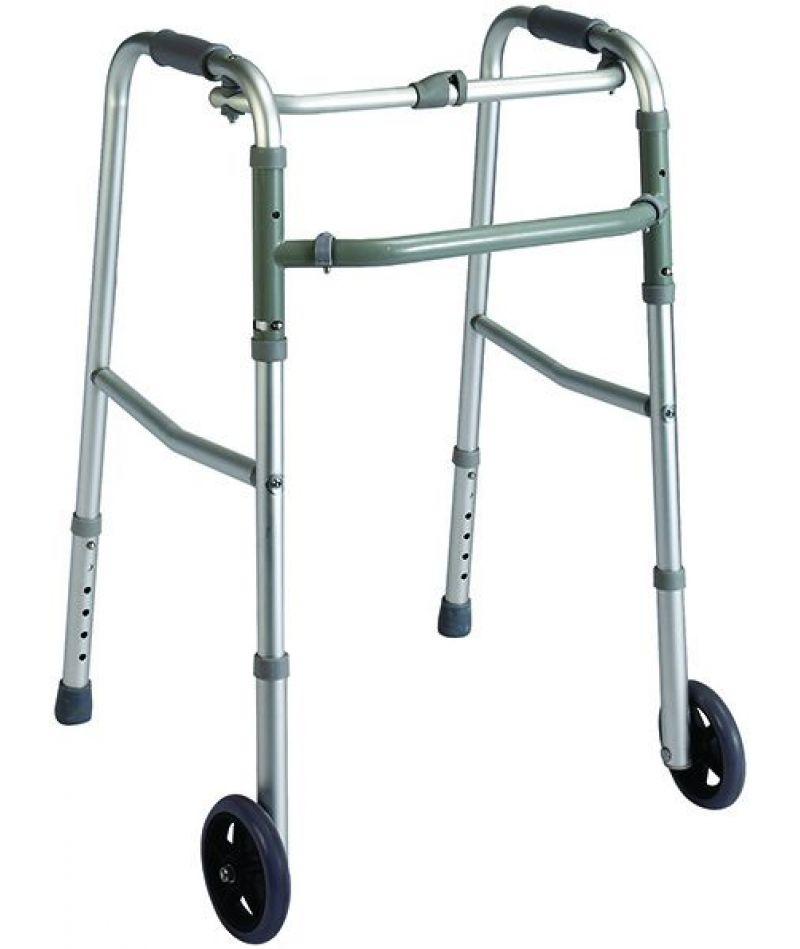 Ходунки шагающие, педиатрические, на колесах Heaco PR-443