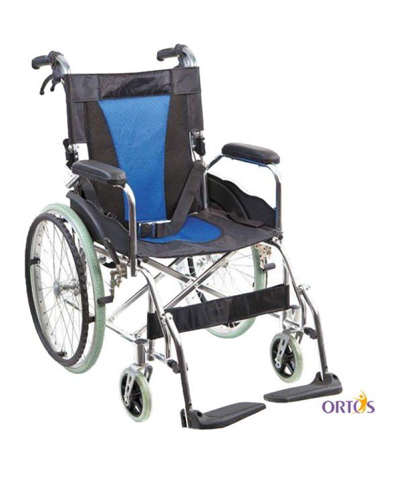 Передвижное алюминиевое инвалидное кресло Heaco G503