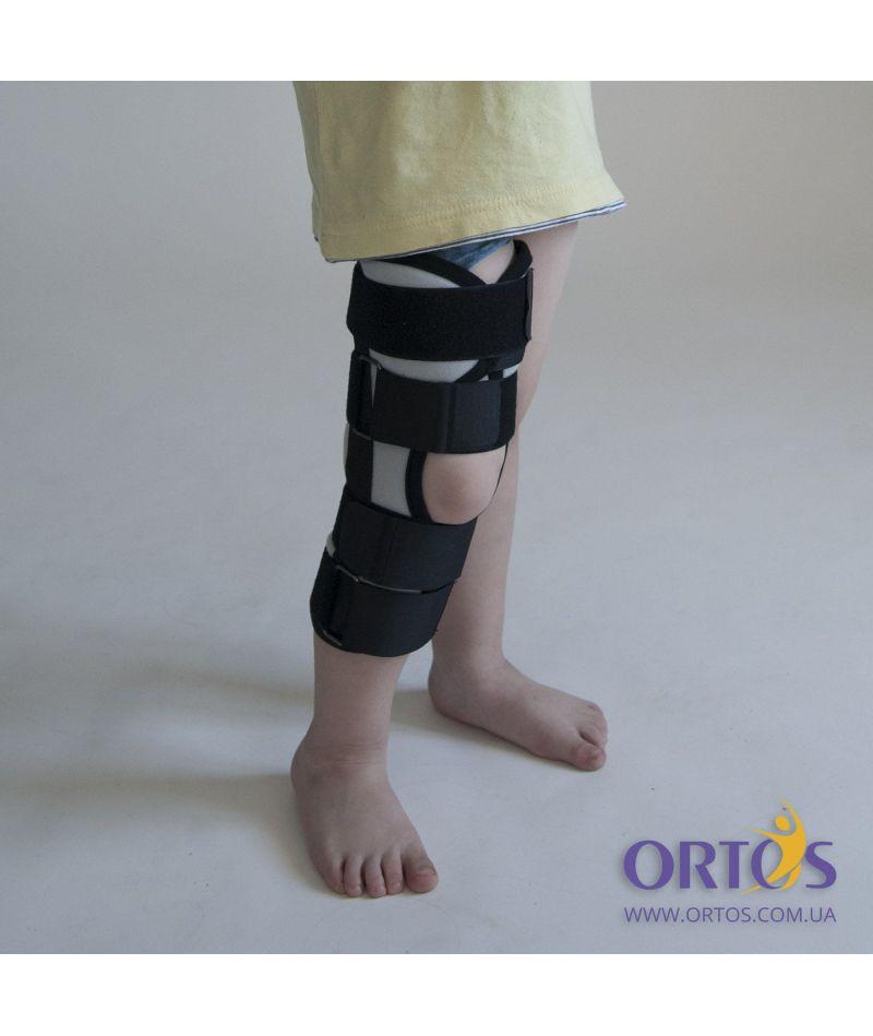 Бандаж (тутор) на коленный сустав Алком 3013 Kids
