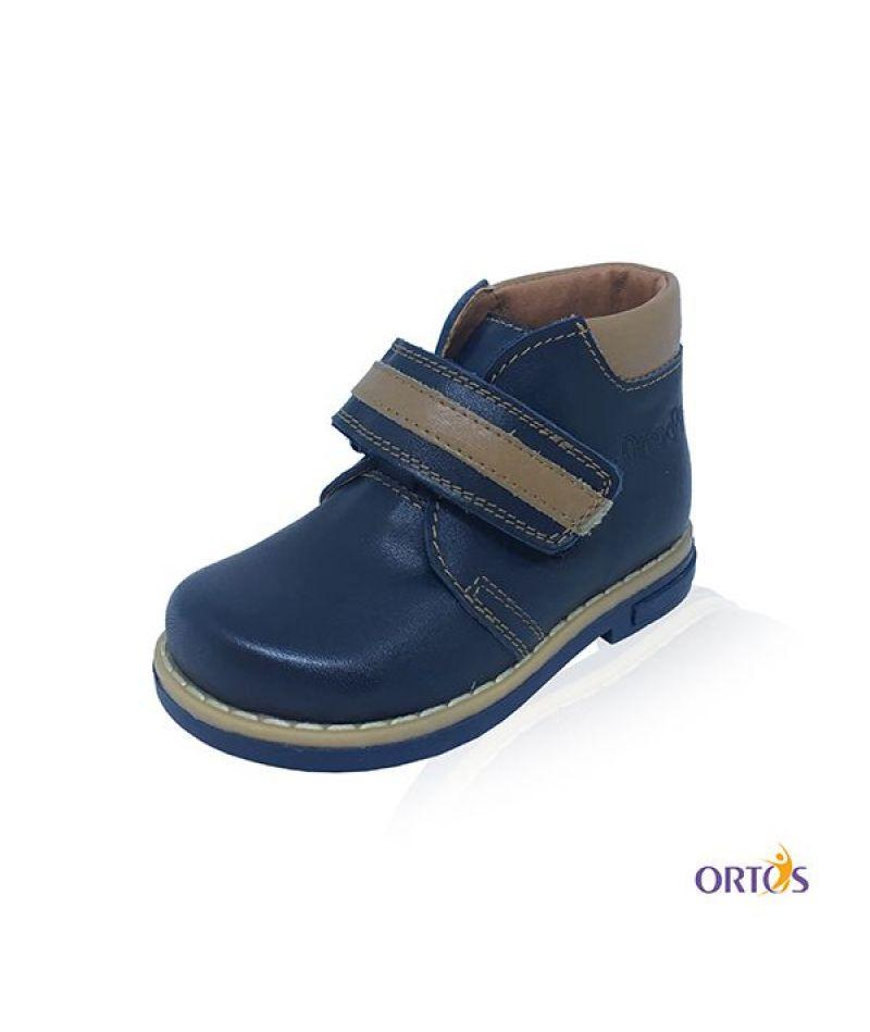 Ботинки детские ортопедические ОrtoBaby D9104 цвет синий