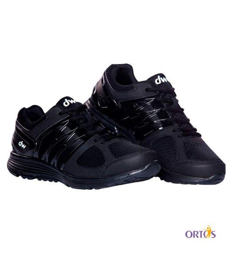 Ортопедическая обувь для диабетической стопы Men's DW Classic, Pure Black
