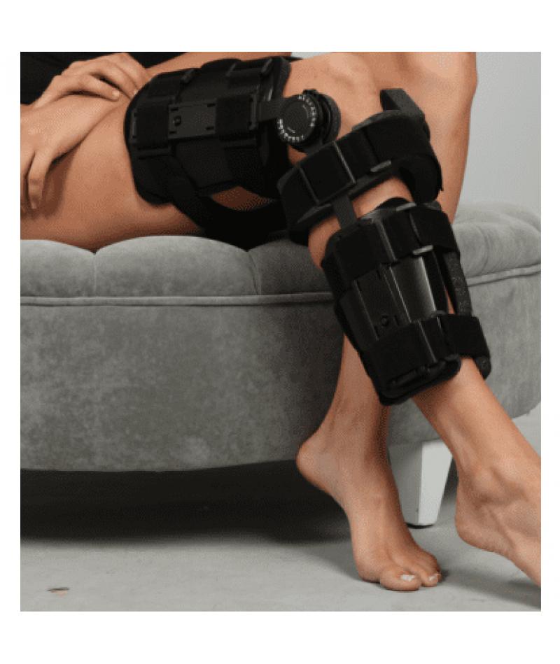Ортез на коленный сустав c регулируемым углом усиленный Неасо SL-09B