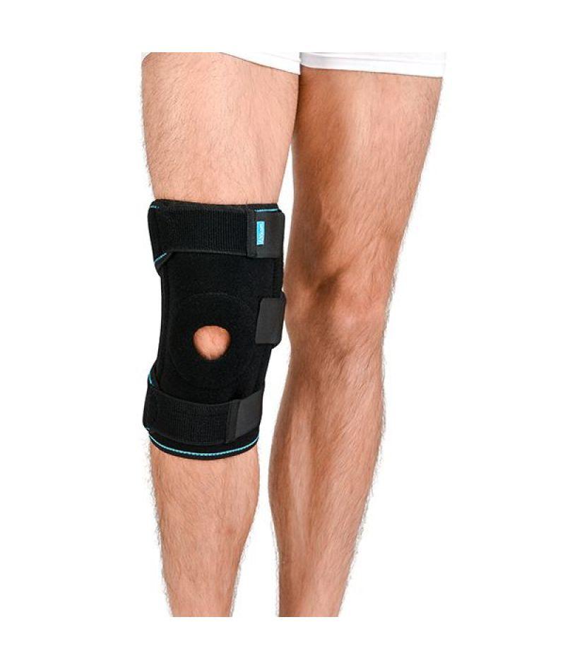 Ортез на колінний суглоб зі спіральними ребрами жорсткості Алком 4054