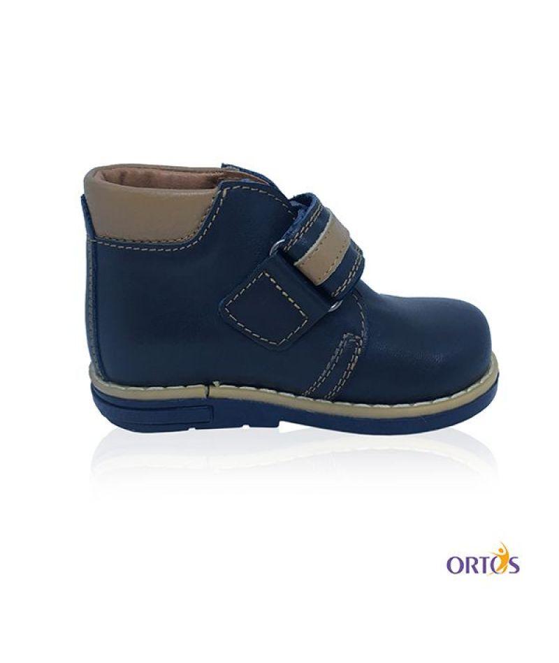 Ботинки детские ортопедические ОrtoBaby D9104 цвет синий - 3