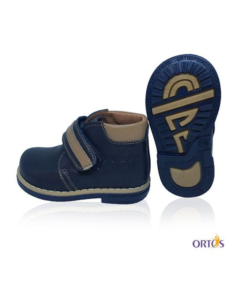Ботинки детские ортопедические ОrtoBaby D9104 цвет синий - 2