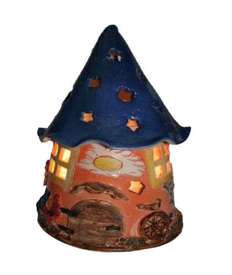 Соляная лампа (детский ночник) «Дом гнома»