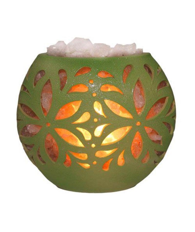 Соляная лампа «Флора диск»
