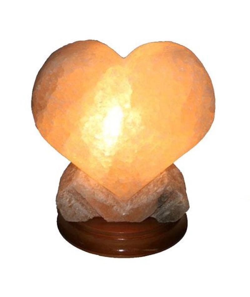 Соляная лампа «Сердце большое»