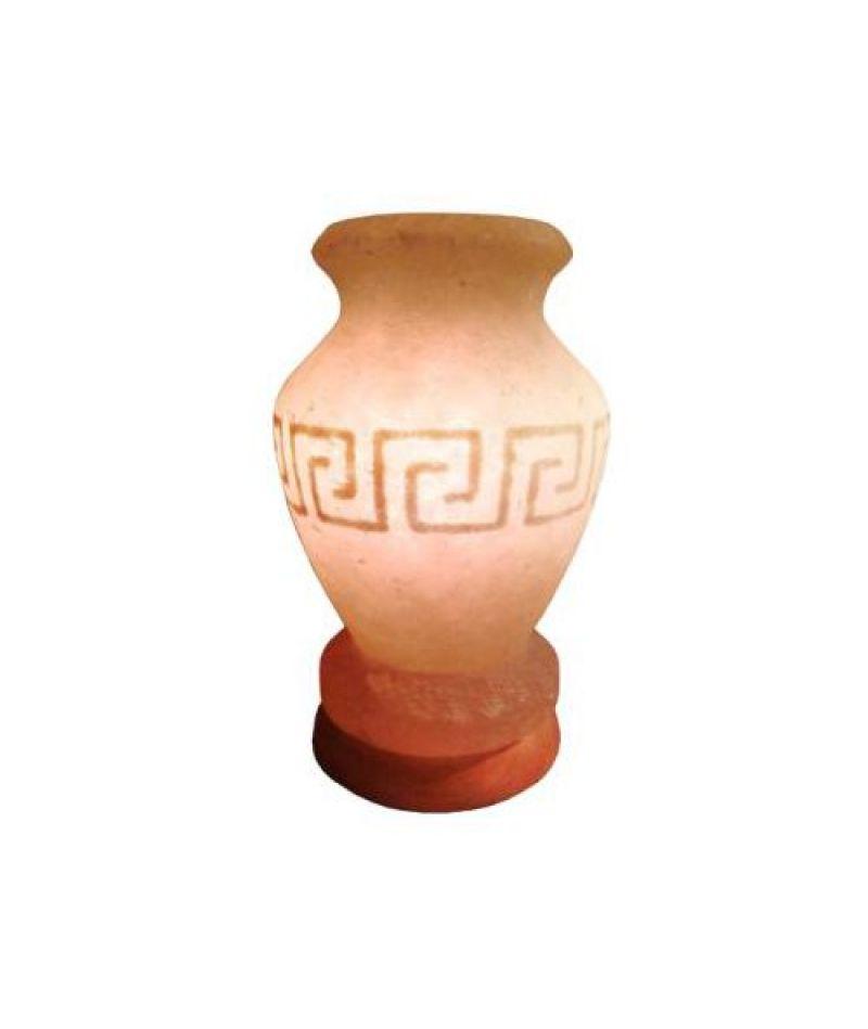 Соляная лампа «Ваза греческая расписная»