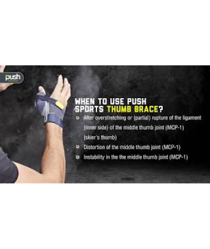 Бандаж на большой палец руки 4.10.3 Push Sports Thumb Brace - 4